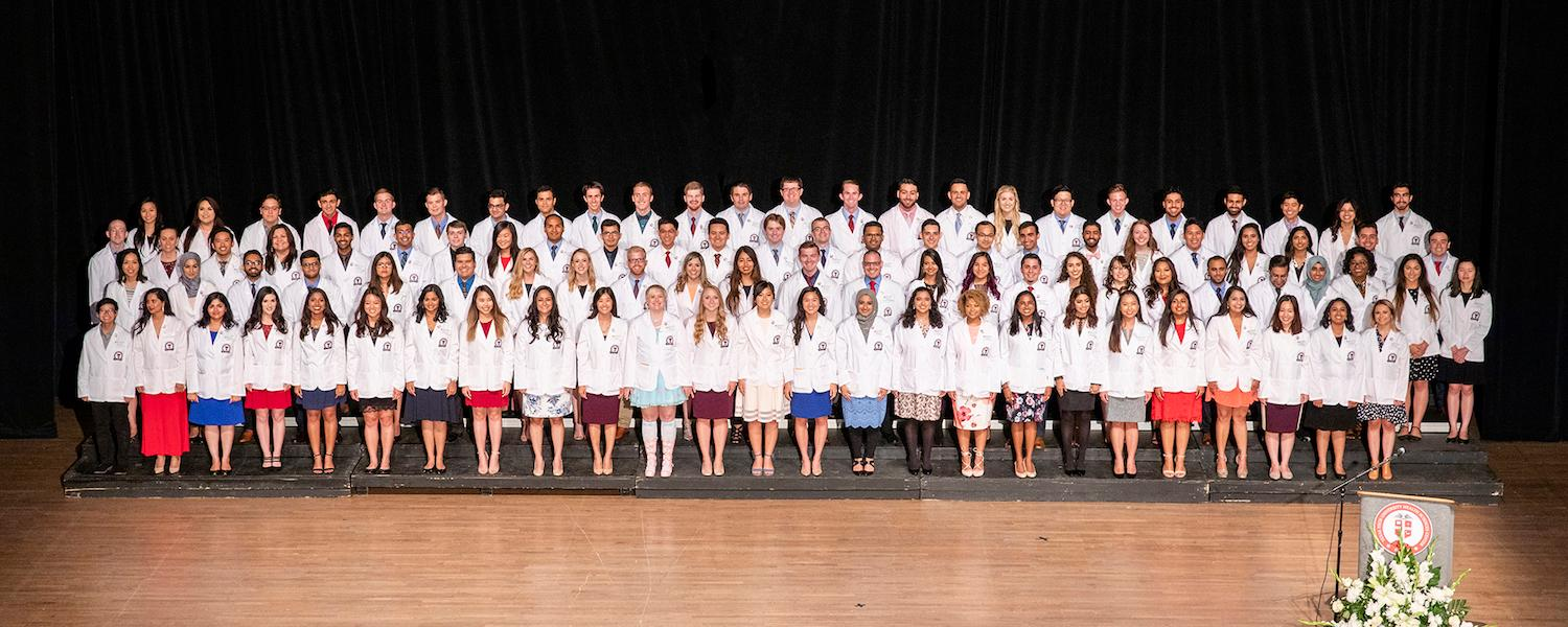 Future Doctors Receive White Coats