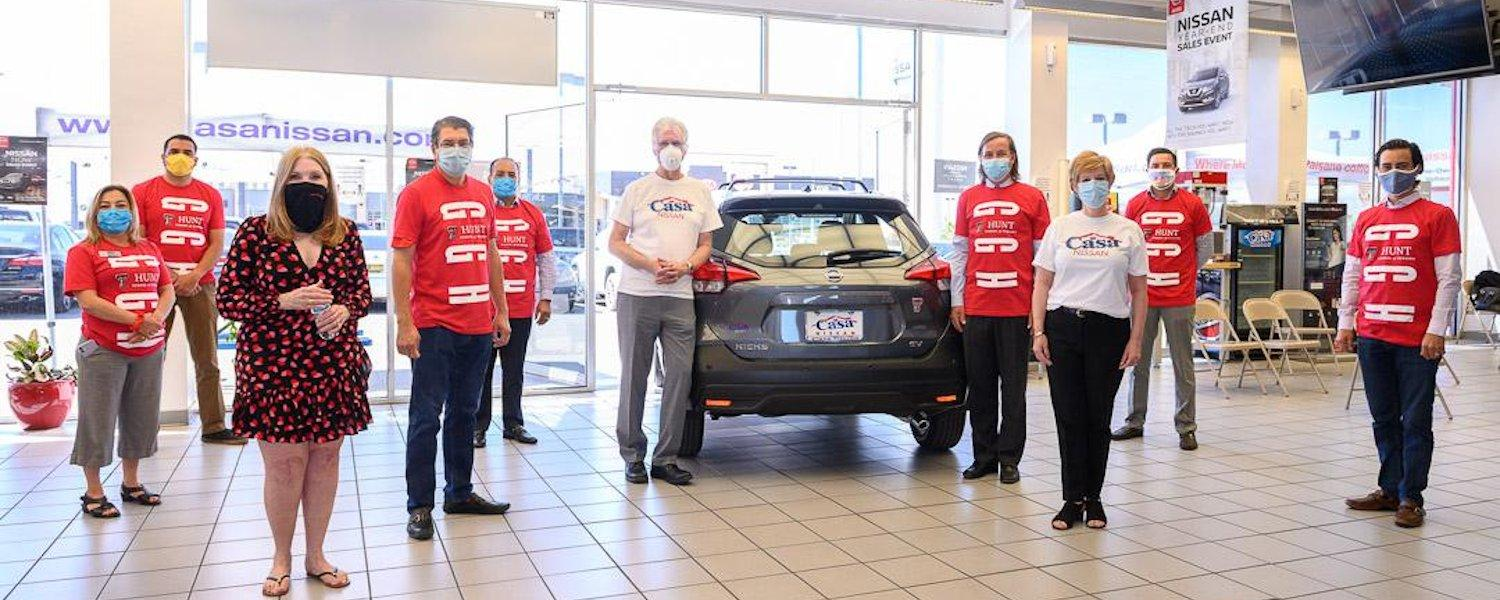 Casa Nissan Announces Complimentary One-Year Vehicle Lease to a Hunt School of Nursing Student