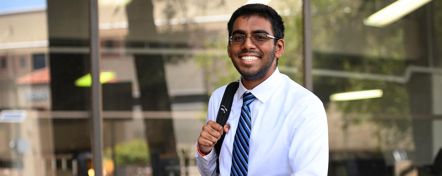 On the Fast Track: 19-Year-Old is the Foster School of Medicine's Youngest Student