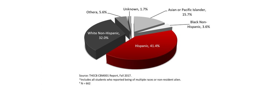 Total Enrollment by Race/Ethnicity, Fall 2017