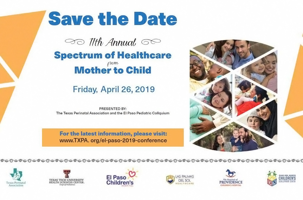11th Annual Spectrum of Healthcare from Mother to Child - April 26