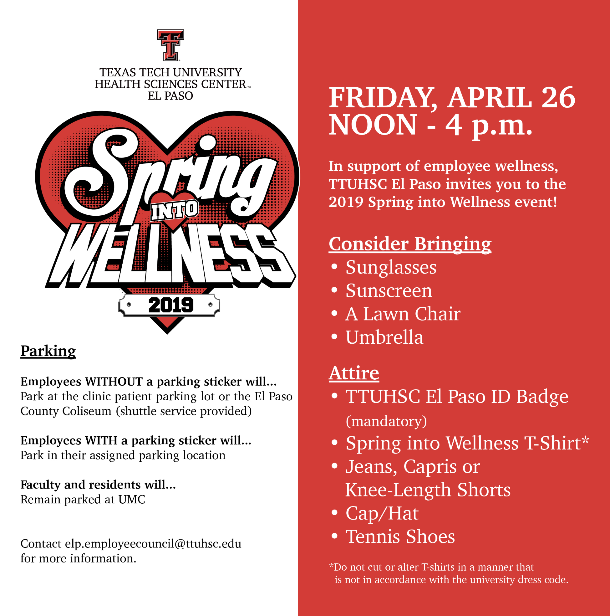Spring into Wellness 2019 – April 26